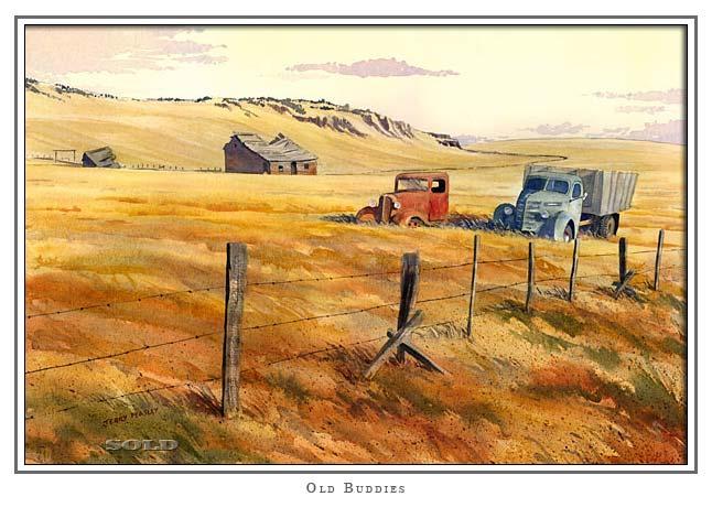 Old Farm Scene Paintings Gallery